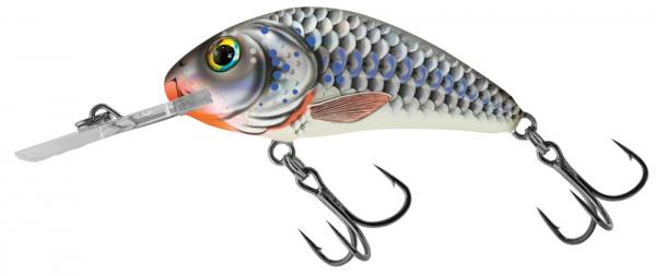 Salmo 4,5cm RATTLIN HORNET - silver holographic shad
